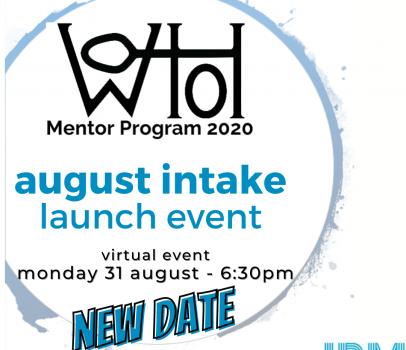 Mentor Launch Instagram 31 Aug